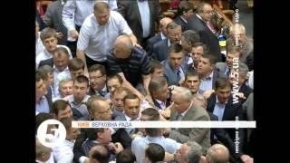 видео Триває вечірнє пленарне засідання Верховної Ради України