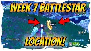 Week 7 Fortnite Challenge! *Battle Star* Location! Treasure Map Pleasant Park! Blockbuster Skin!