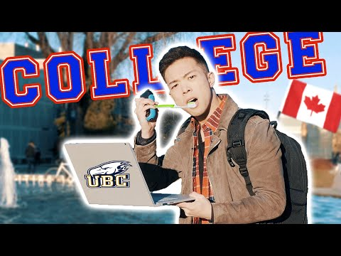 A Day in the Life of a Canadian University Student - UBC