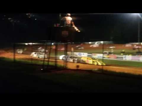 Josh Burton Memorial Modified Feature Part 1/2  Bloomington Speedway