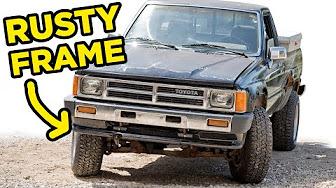 Toyota Pickup Truck Hilux 1984 88 Youtube
