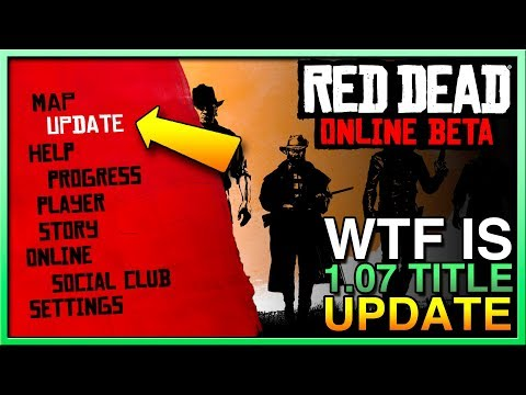 Red Dead Redemption 2 Online Update - Red Dead Online Update 1.07 - RDR2 Online Update Title 1.07 thumbnail