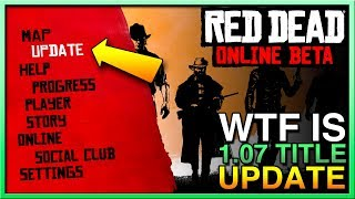 Red Dead Redemption 2 Online Update - Red Dead Online Update 1.07 - RDR2 Online Update Title 1.07