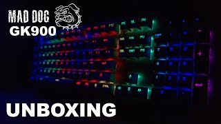 UNBOXING/RECENZJA - Mad Dog GK900