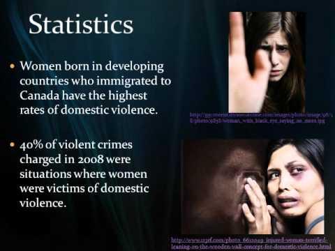 Domestic Violence against immigrant women (Pecha Kucha presentation)