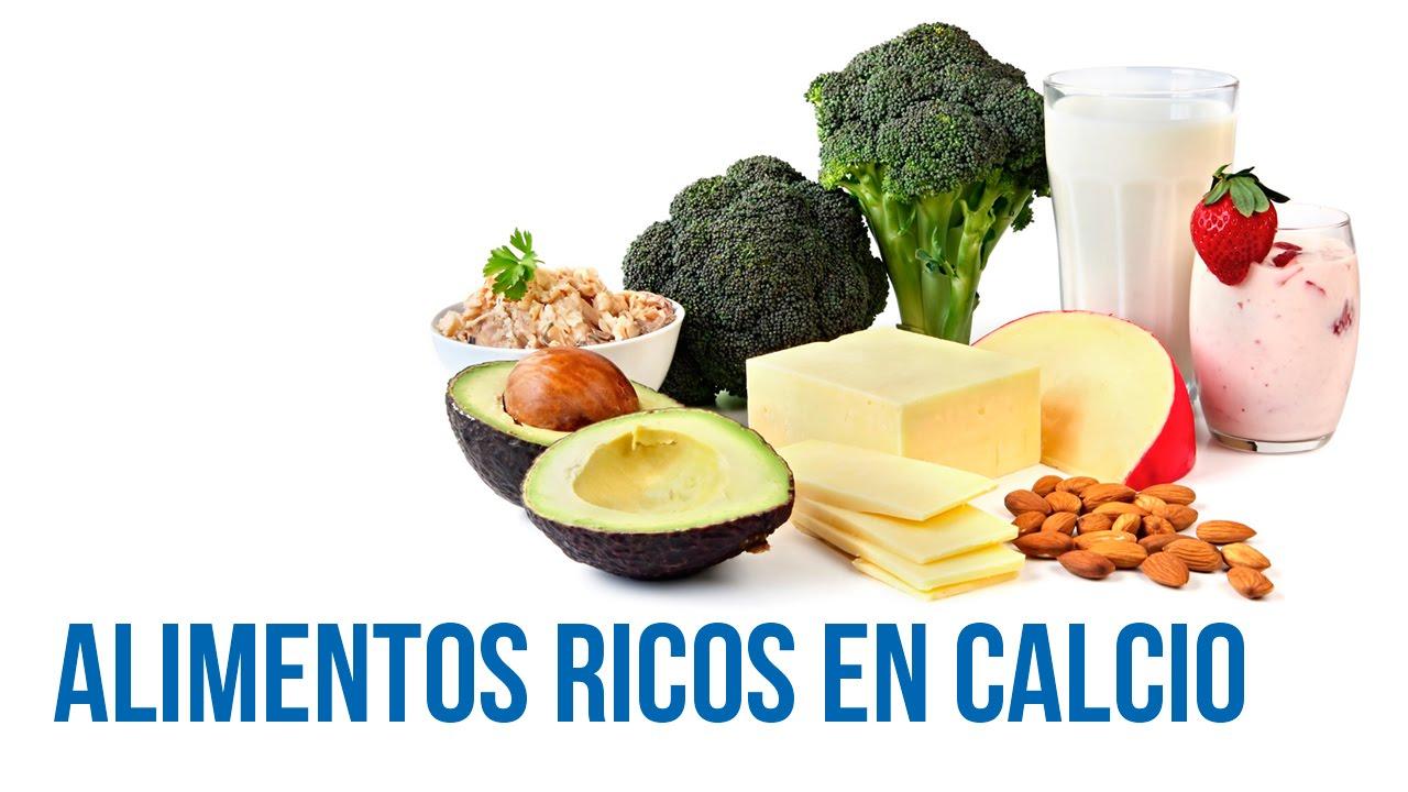 Alimentos ricos en calcio youtube - Alimentos que tienen calcio ...