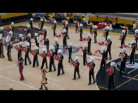 Caracas marching band and drill team school competition