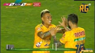 Tigres Vs Morelia 3-3 Jornada 15 Clausura 2019 Liga Mx Hd