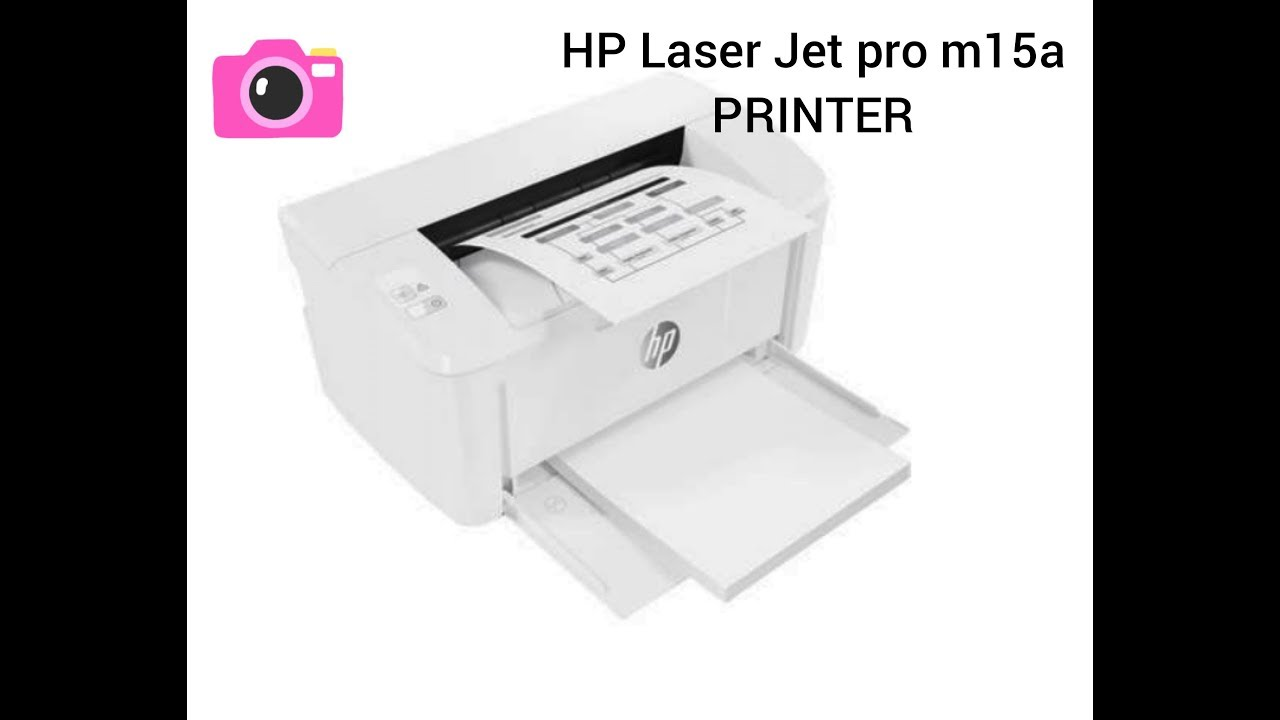 HP Laser Jet Pro m15a Printer//reviews //