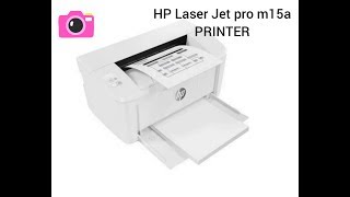 HP Laser Jet Pro m15a Printer//reviews //...