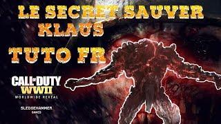 COD WW2 - TUTO FR - FAIRE LE SECRET (SAUVER KLAUS) - LE REICH FINAL
