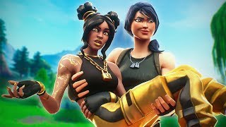 My Random Duo CARRIED Me ... Underrated (Fortnite Battle Royale)