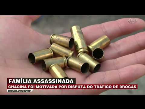 Família é assassinada a mando do tráfico no RJ