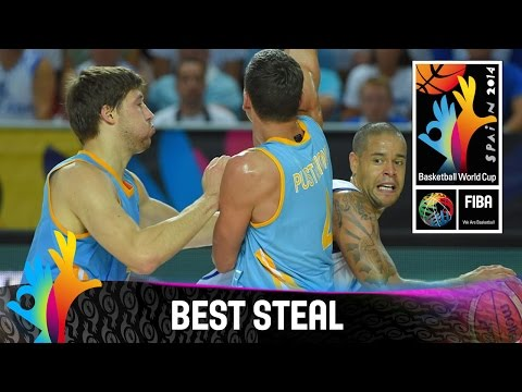 Finland v Ukraine - Best Steal - FIBA 2014 Basketball World Cup