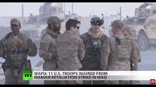 11 US troops injured in air strike, contrary to claim