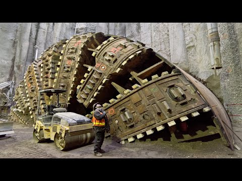 World Amazing Modern Tunnelling Construction Technology - Incredible Construction Equipment Machines