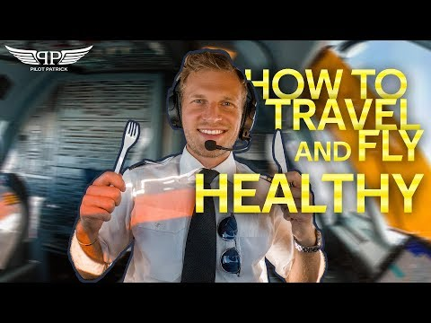 MY DAY AS AN AIRLINE PILOT | WHAT I EAT THE FULL DAY