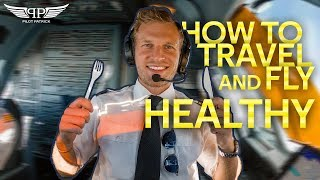 MY DAY AS AN AIRLINE PILOT   WHAT I EAT THE FULL DAY