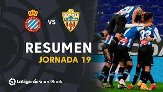 Resumen de RCD Espanyol vs UD Almería (2-1)