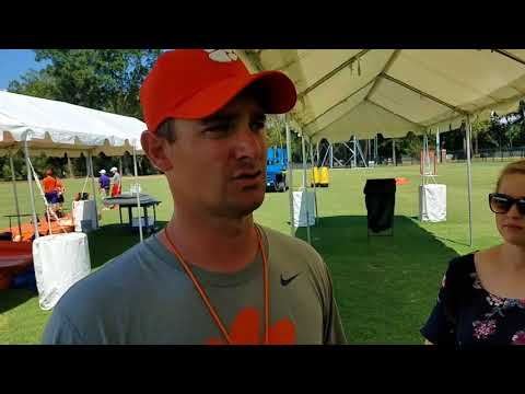 TigerNet: Jeff Scott after practice - 8/17/17