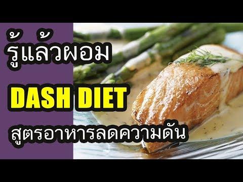รู้แล้วผอม - DASH DIET สูตรอาหารลดน้ำหนัก ลดความดัน