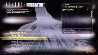 Demo Day 1 - Aliens Vs Predator Multiplayer Demo