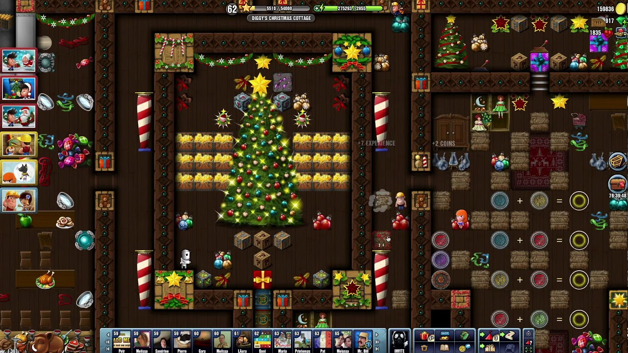 Diggys Adventure Christmas 2020 Achievements Christmas 2017~] #17 Diggy's Christmas Cottage   Diggy's Adventure