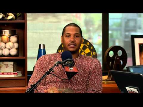 Carmelo Anthony on The Dan Patrick Show (Full Interview) 4/28/16 - 동영상