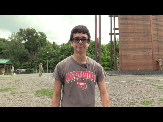 6th Regiment,  Advanced Camp | Rappel tower and Confidence Course