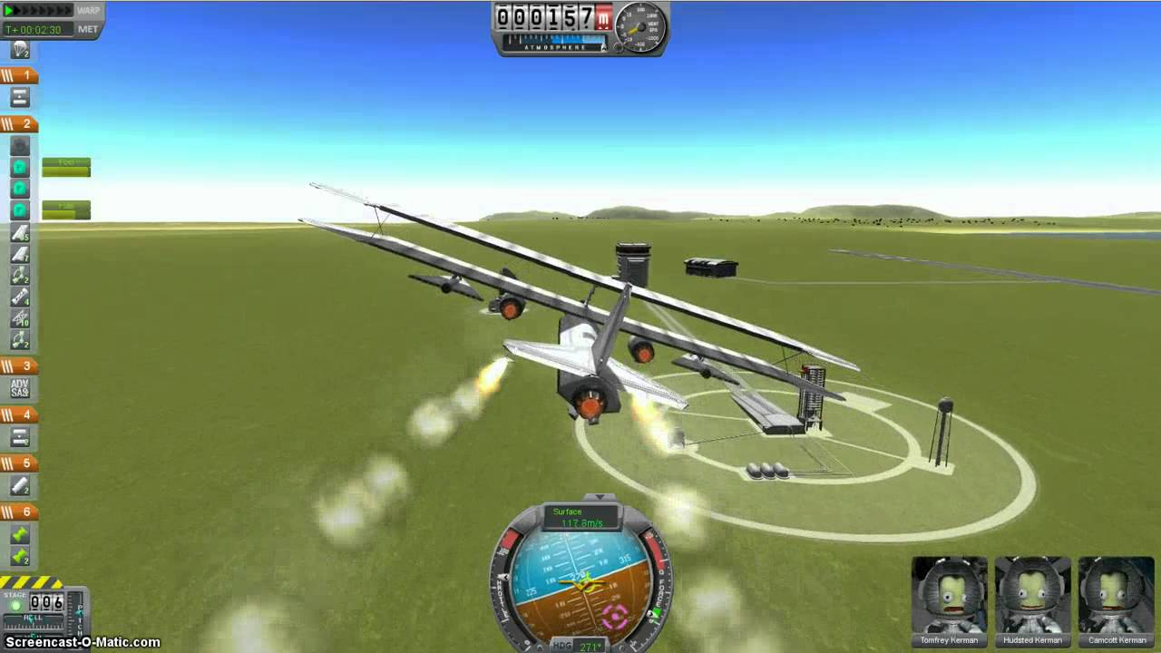 Kerbal Space Program Missiles Demo - YouTube