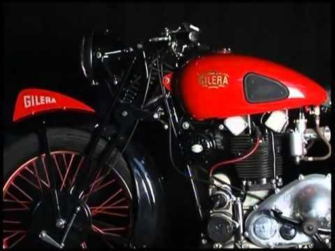Documentaire Soupapes et pistons - Gilera, une marque de moto de passion