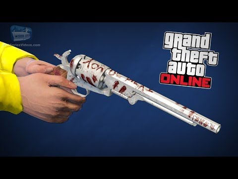 GTA Online - Secret Navy Revolver & Challenge [All Mystery Clues Locations]