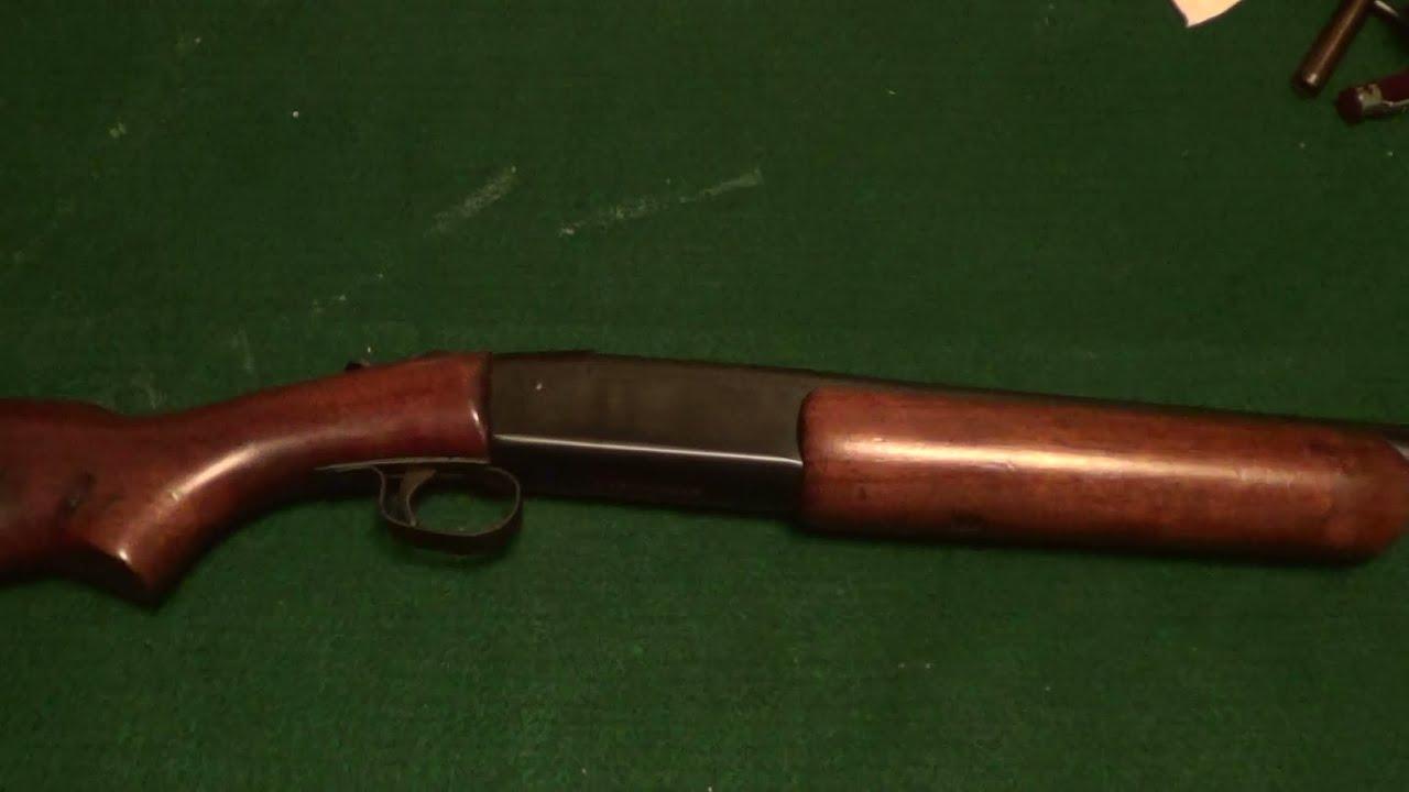 Winchester Model 37 Shotgun 12 Gauge  YouTube