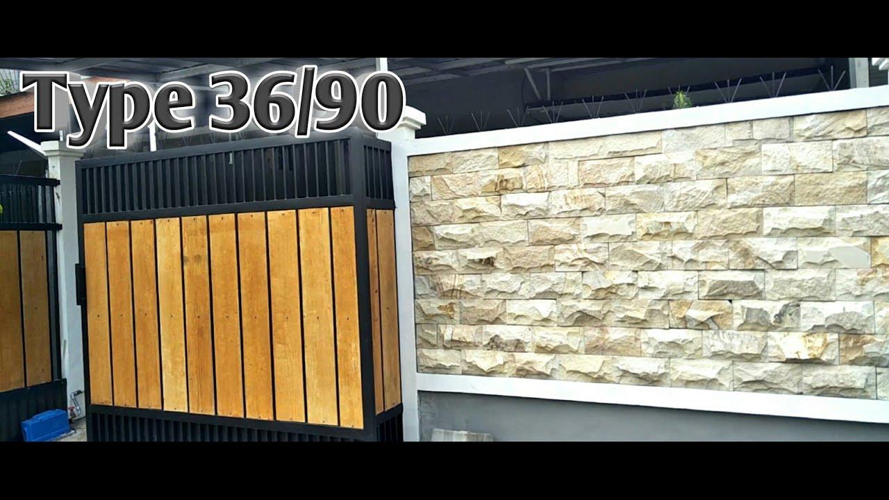 Inspirasi Renovasi Rumah Full Type 36/90 Cantik - YouTube