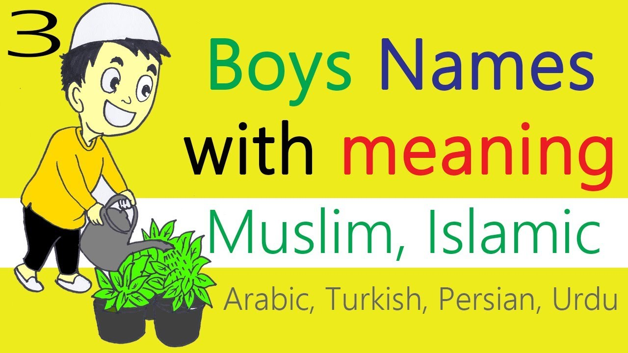 Muslim boys names with meaning starting with A | Modern ...
