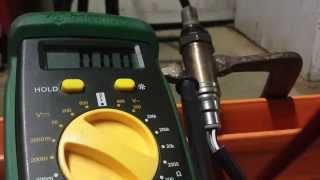 Jeep Wrangler - Oxygen Sensor - Locate and test