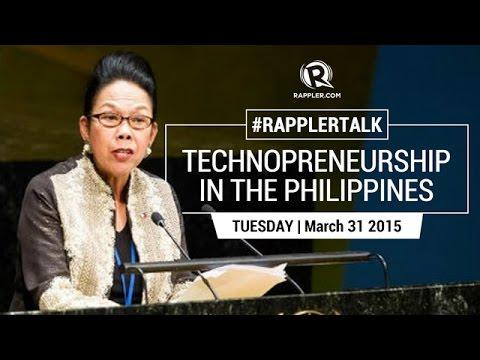 Rappler Talk: Technopreneurship in the Philippines