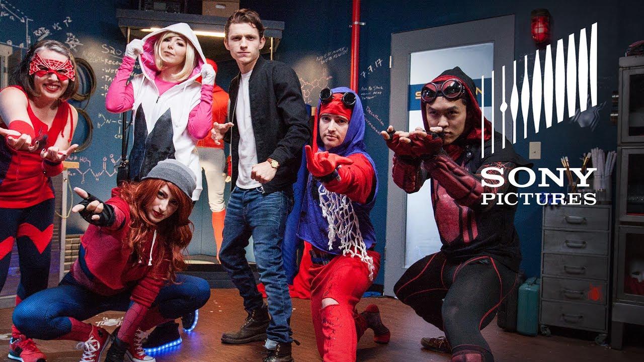 spiderman homecoming � diy suit challenge big reveal