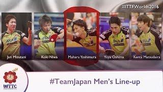 World Champs Teams - Japan Men