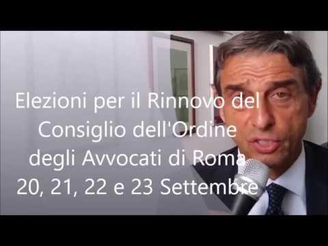 avvocati uniti - elezioni consiglio ordine avvocati roma 2017 - youtube