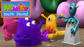 Monster Math Squad | FULL EPISODE | Uncle Gloop's Big Blunder | Learning Numbers Series