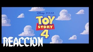 Video Reaccion A: Toy Story 4 teaser trailer