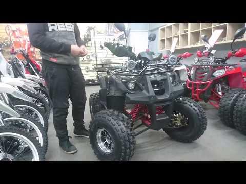 Обзор подросткового квадроцикла WELS Thunder 125 LUX