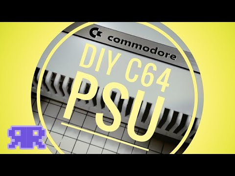 Commodore 64 DIY Cheap & Sexy Power Supply PSU   see description