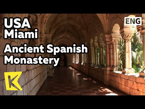 【K】USA Travel-Miami[미국 여행-마이애미]고대 수도원/Ancient Spanish Monastery/St Bernard de Clairvaux Church