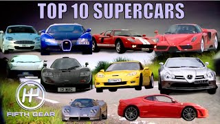 The Top 10 Supercars of ALL TIME - The FULL film | Fifth Gear
