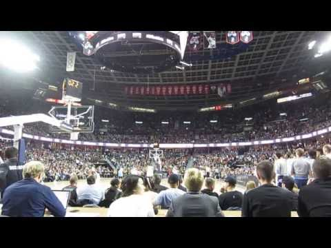 NBA Toronto Raptors vs Denver Nuggets from Calgary Alberta Canada