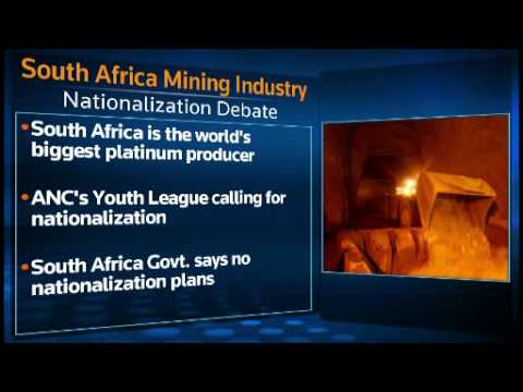 South African mining industry