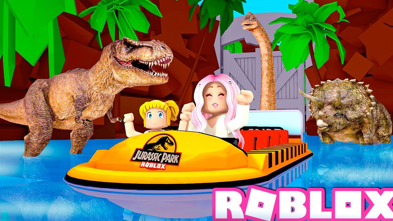 Titi & Goldie Van al Mejor Parque de Atracciones en Roblox