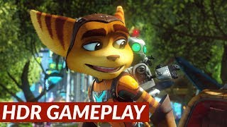 Ratchet & Clank - HDR gameplay [PS4 Pro]